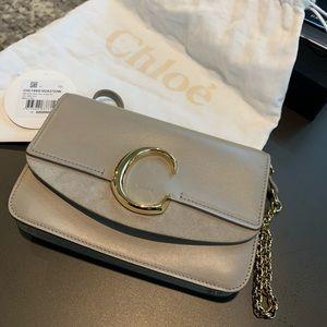 Chloè mini leather shoulder bag